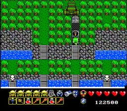 Arkistas Ring USA 147 256x224 Arkistas Ring NES Nintendo Review Screenshot