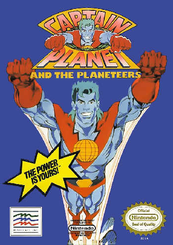 Captain Planet and the Planeteers USA Captain Planet and the Planeteers NES Nintendo Review Screenshot