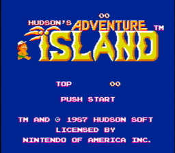 Hudsons Adventure Island USA 001 256x224 Hudsons Adventure Island NES Nintendo Review Screenshot