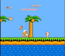 Adventure Island Game Boy Save System