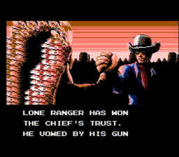 Lone Ranger The USA 400 256x224 Lone Ranger, The NES Nintendo Review Screenshot