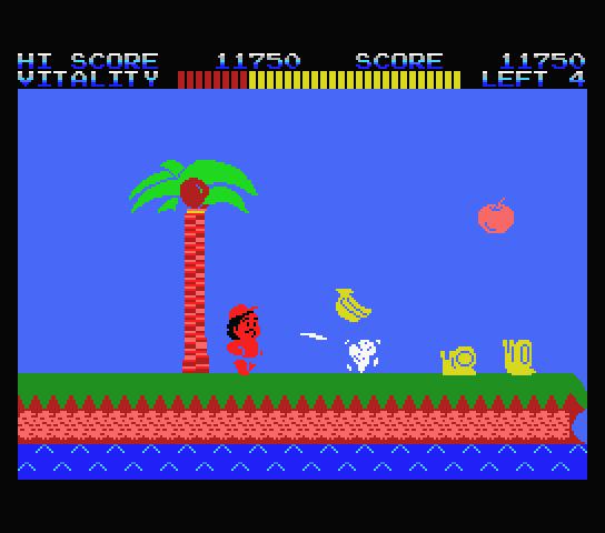 Takahasi Meijin No Boukenjima 1986 Hudson J  0019 The History of Hudsons Adventure Island NES Nintendo Review Screenshot