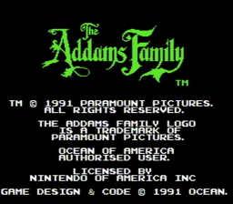 Addams Family The USA 003 256x224 The Addams Family NES Nintendo Review Screenshot