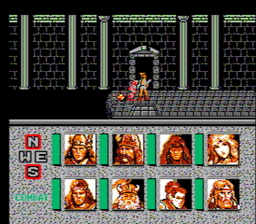 Advanced Dungeons Dragons Heroes of the Lance USA 038 256x224 AD&D: Heroes of the Lance NES Nintendo Review Screenshot