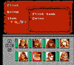 Advanced Dungeons Dragons Heroes of the Lance USA 094 256x224 AD&D: Heroes of the Lance NES Nintendo Review Screenshot