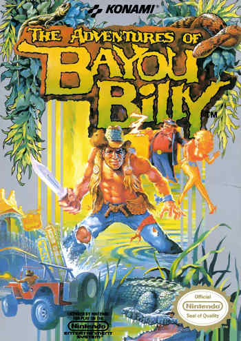 Adventures of Bayou Billy The USA The Adventures of Bayou Billy NES Nintendo Review Screenshot
