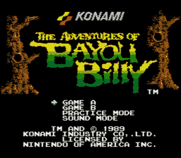 Adventures of Bayou Billy 001 256x2241 The Adventures of Bayou Billy NES Nintendo Review Screenshot