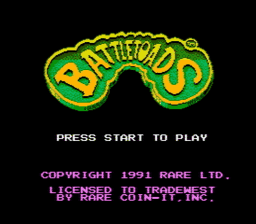 Battletoads USA 006 256x224 Battletoads NES Nintendo Review Screenshot