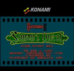 Castlevania II Simons Quest USA 001 256x244 Castlevania II   Simons Quest NES Nintendo Review Screenshot