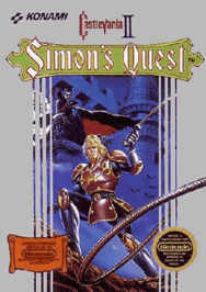Castlevania II Simons Quest USA 188x266 Castlevania II   Simons Quest NES Nintendo Review Screenshot