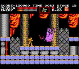 Castlevania USA Rev A 143 256x224 Castlevania NES Nintendo Review Screenshot
