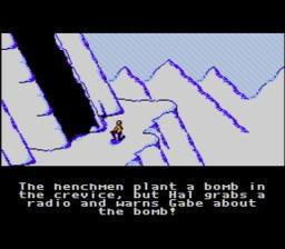Cliffhanger USA 150 256x224 Cliffhanger NES Nintendo Review Screenshot