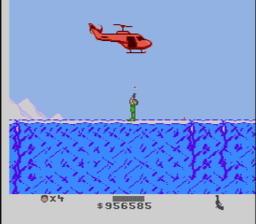 Cliffhanger USA 205 256x224 Cliffhanger NES Nintendo Review Screenshot