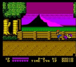Double Dragon USA 039 256x224 Double Dragon NES Nintendo Review Screenshot