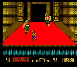 Double Dragon USA 164 256x224 Double Dragon NES Nintendo Review Screenshot