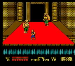 Double Dragon USA 164 256x224 Double Dragon NES Nintendo Review Screenshot
