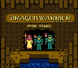 Dragon Warrior Part II USA 001 256x224 Dragon Warrior II NES Nintendo Review Screenshot