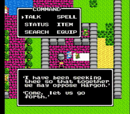 Dragon Warrior Part II USA 061 256x224 Dragon Warrior II NES Nintendo Review Screenshot