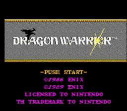 Dragon Warrior USA 002 256x224 Dragon Warrior NES Nintendo Review Screenshot
