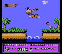 Felix the Cat USA 135 256x224 Felix the Cat NES Nintendo Review Screenshot