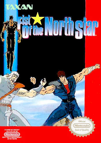 Fist of the North Star USA Fist of the North Star NES Nintendo Review Screenshot