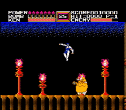 Fist of the North Star USA 010 256x224 Fist of the North Star NES Nintendo Review Screenshot