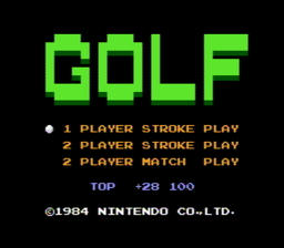 Golf USA 001 256x2241 Golf NES Nintendo Review Screenshot