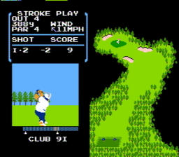 Golf USA 021 256x224 Golf NES Nintendo Review Screenshot