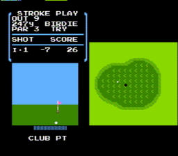 Golf USA 050 256x224 Golf NES Nintendo Review Screenshot