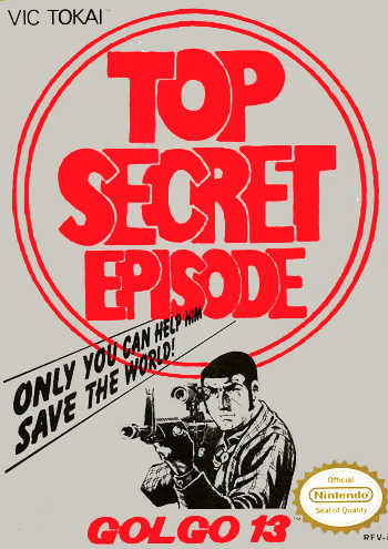 Golgo 13 Top Secret Episode USA Golgo 13: Top Secret Mission NES Nintendo Review Screenshot