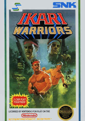 Ikari Warriors USA Rev A Ikari Warriors NES Nintendo Review Screenshot