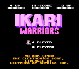 Ikari Warriors USA 002 256x224 Ikari Warriors NES Nintendo Review Screenshot