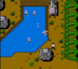 Ikari Warriors USA 031 256x224 Ikari Warriors NES Nintendo Review Screenshot