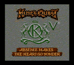 Kings Quest V USA 004 256x224 Kings Quest V NES Nintendo Review Screenshot