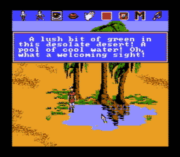 Kings Quest V USA 151 256x224 Kings Quest V NES Nintendo Review Screenshot