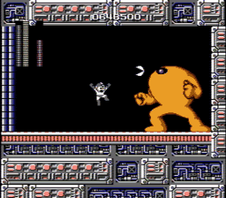Mega Man USA 257 256x224 Mega Man NES Nintendo Review Screenshot