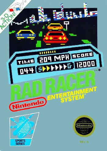 Rad Racer USA Rad Racer NES Nintendo Review Screenshot