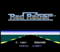 Rad Racer USA 001 256x224 Rad Racer NES Nintendo Review Screenshot