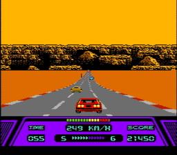 Rad Racer USA 065 256x224 Rad Racer NES Nintendo Review Screenshot