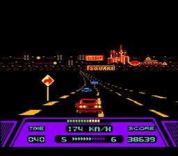 Rad Racer USA 124 256x224 Rad Racer NES Nintendo Review Screenshot