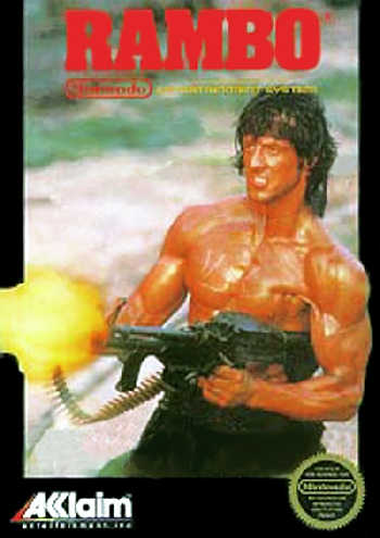 Rambo USA Rev A Rambo NES Nintendo Review Screenshot