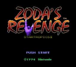 Startropics 2 Zodas Revenge USA 002 256x224 Zodas Revenge: Star Tropics II NES Nintendo Review Screenshot