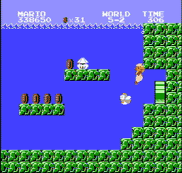 Super Mario Bros. Japan USA 207 256x244 Super Mario Bros. NES Nintendo Review Screenshot