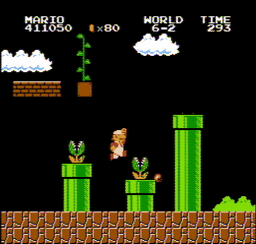 Super Mario Bros. Japan USA 247 256x244 Super Mario Bros. NES Nintendo Review Screenshot