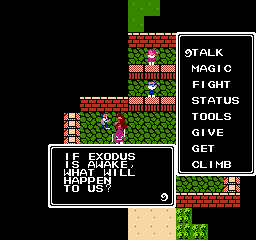 Ultima Exodus USA 035 Ultima: Exodus NES Nintendo Review Screenshot