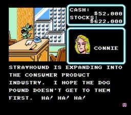 Wall Street Kid USA 096 256x224 Wall Street Kid NES Nintendo Review Screenshot