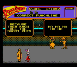 Who Framed Roger Rabbit USA 002 256x224 Who Framed Roger Rabbit? NES Nintendo Review Screenshot