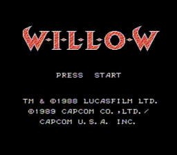 Willow USA 007 256x224 Willow NES Nintendo Review Screenshot