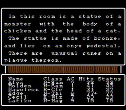 Wizardry Proving Grounds of the Mad Overlord USA 176 256x224 Wizardry   Proving Grounds of the Mad Overlord NES Nintendo Review Screenshot