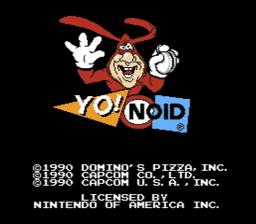 Yo Noid USA 001 256x224 Yo! Noid NES Nintendo Review Screenshot